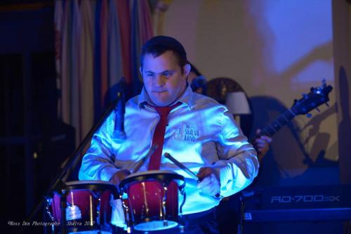 Yair on the Drums