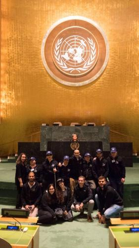 Visiting the UN