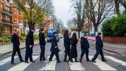Shalva Band at Abbey Road